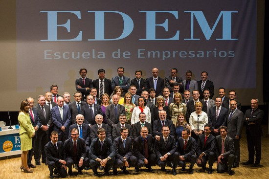 Acto de clausura del curso 15×15 de EDEM