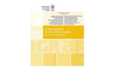 """Colaboración de Killian Beneyto en la obra colectiva """"La mediación en el sistema jurídico español. Análisis y nuevas propuestas"""""""