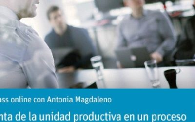 OPENCLASS ONLINE CON ANTONIA MAGDALENO