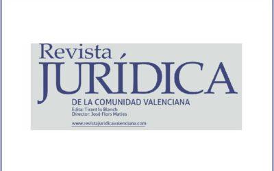 Killian Beneyto repasa en la Revista Jurídica de la Comunidad Valenciana la regulación de la insolvencia en España