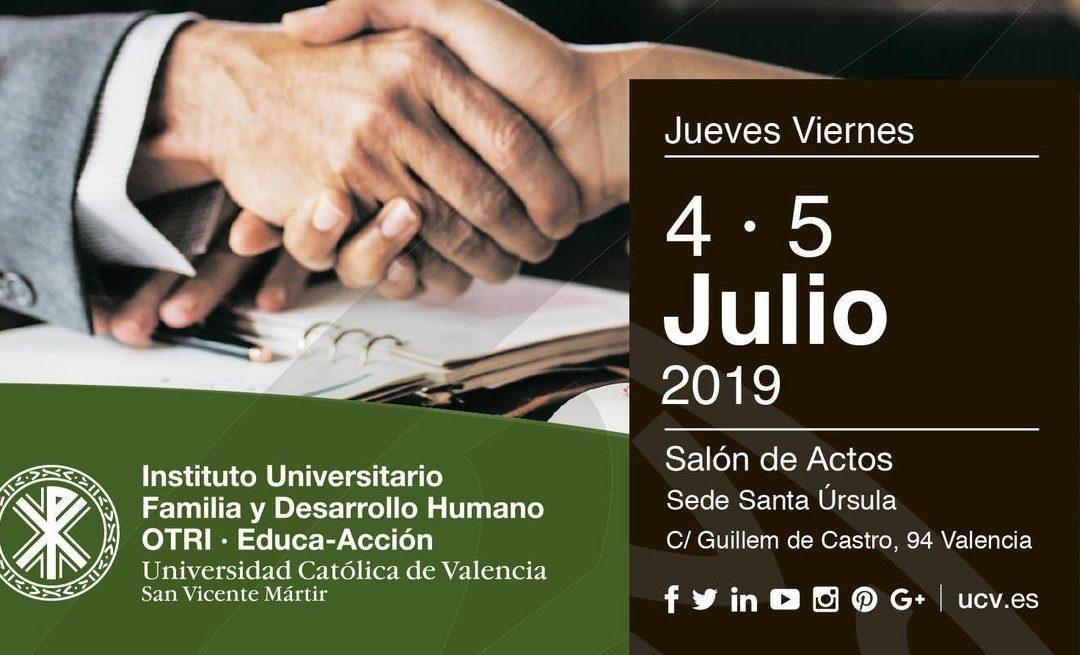 """SUE participa en el congreso """"La mediación intrajudicial en España: logros y retos"""" organizado por la Universidad Católica de Valencia"""